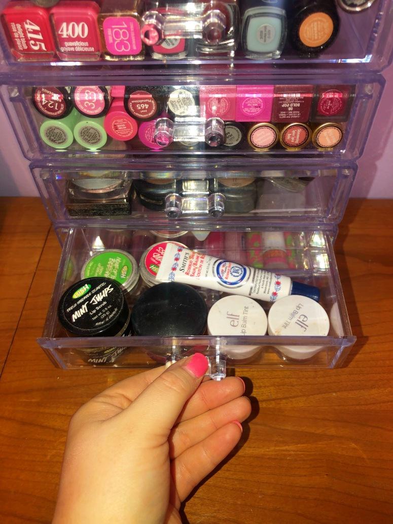 lip balm drawer
