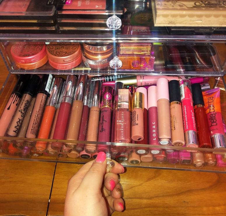 lip gloss drawer